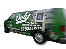 Daly Home Improvement van