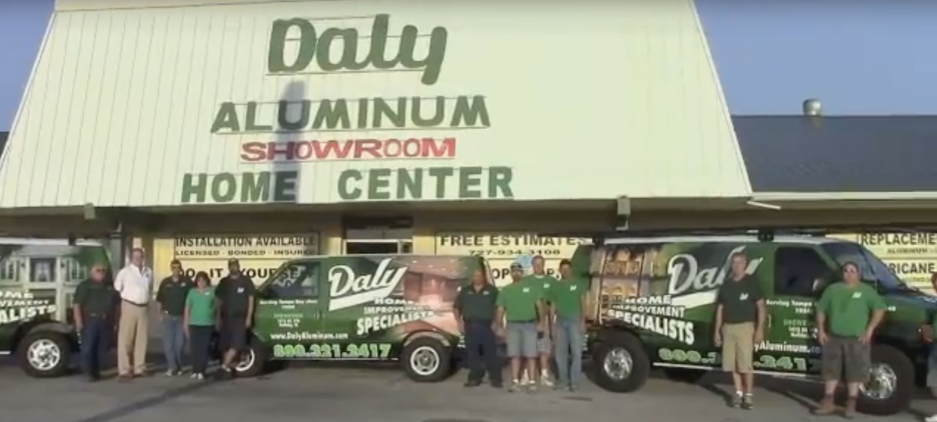 Daly Home Improvement team